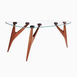 Petite Table Ted en Cristal par BNE pour Greyge