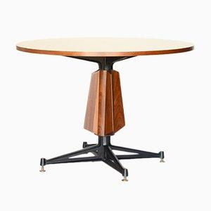 Table de Salle à Manger Mid-Century en Teck par Osvaldo Borsani