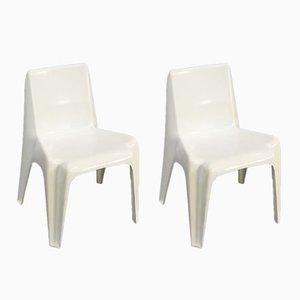 Chaises BA1171 par Helmut Bätzner pour Bofinger Furniture, 1960s, Set de 2