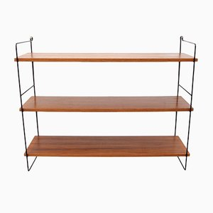Vintage Walnut Wall Shelf