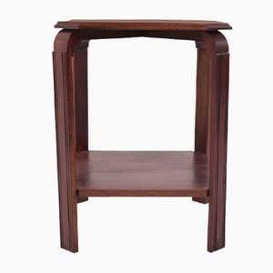 Art Deco Rosewood and Mahogany Side Table, 1930s