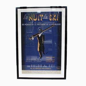 La Nuit de Ski Poster by Frank, 1938