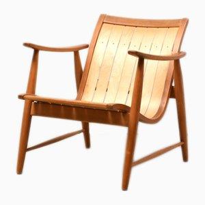 Sessel mit kurzer Rückenlehne von Jacob Müller für Wohnhilfe, 1950er