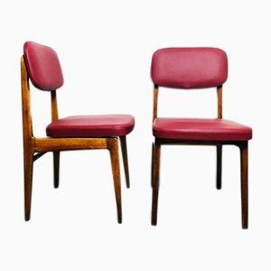 Vintage Stühle von Anonima Castelli, 1960er, 2er Set