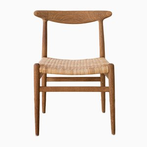 Chaise W2 par Hans Wegner pour C.M. Madsen, 1960s