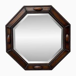 Achteckiger Art Deco Spiegel