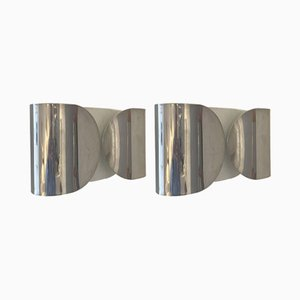 Foglio Wall Lights by Afra and Tobia Scarpa for Flos, Set of 2