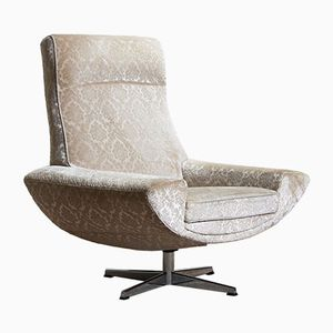 Capri Swivel Lounge Chair by Johannes Andersen for AB Trensums Fåtöljfabrik, 1960s