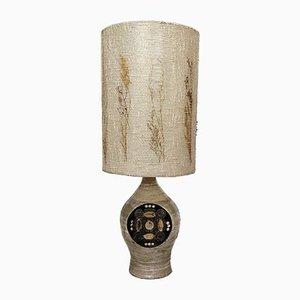 Lámpara de mesa francesa de cerámica de Georges Pelletier, años 60