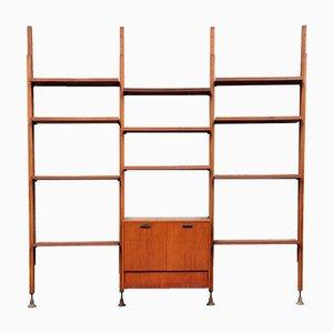 Verstellbares Bücherregal von Fior Leonardo für I.S.A, 1960er