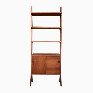 Scandinavian Teak Room Divider or Wall Unit, 1960s