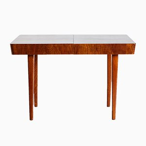 Art Deco Walnut Extendable Dining Table by Jindřich Halabala for UP Závody, 1930s