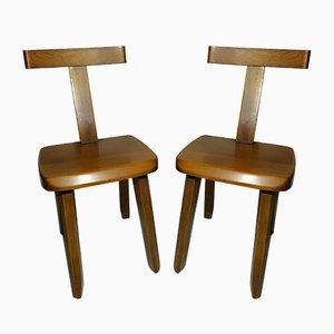 Vintage Chairs by Olavi Hanninen for Mikko Nupponen, 1950s, Set of 2
