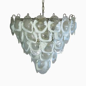 Murano Glass Chandelier from Mazzega, 1979