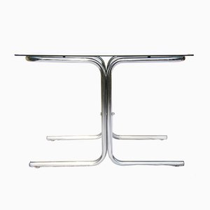 Italian Space Age Chromed Table, 1960s