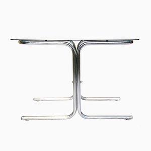 Italienischer Space Age Tisch mit verchromtem Gestell, 1960er