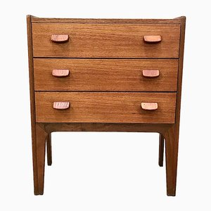 Danish Teak Chest of Drawers by Poul Volther for FDB, 1960s