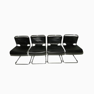 Chairs by Pascal Mourgue Biscia for Steiner, 1970s, Set of 4
