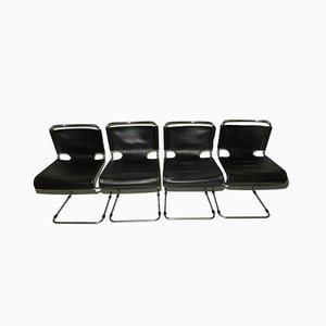 Stühle von Pascal Mourgue Biscia für Steiner, 1970er, 4er Set