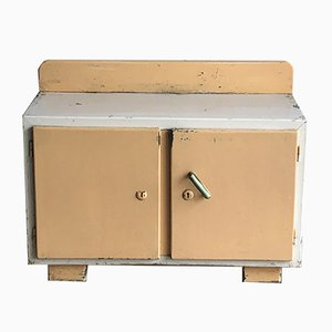 Small Painted Shoe Cabinet, 1920s