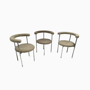 Vintage Esszimmerstühle, 1960er, 3er Set