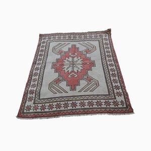 Kleiner flachgewebter Mid-Century Teppich