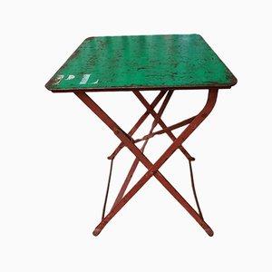 Tavolo da giardino pieghevole, Francia, anni '20