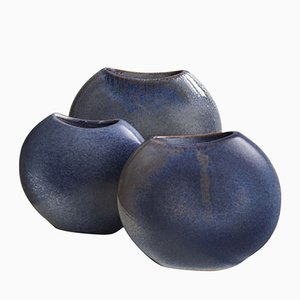 Ceramic Vases by Antonio Lampecco, 1980s, Set of 3