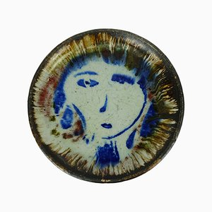 Plato vintage de cerámica de Llouis Castaldo para Castaldo