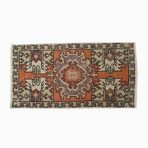Small Vintage Oushak Rug