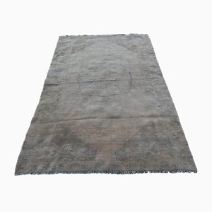 Large Vintage Pale Wool Rug