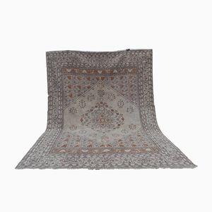 Large Vintage Turkish Soft Color Rug
