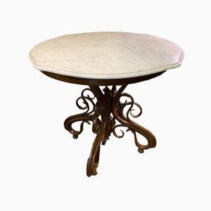 Tavolo da bistrò rotondo nr. 8004 vintage di Thonet