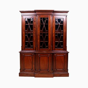 Large Mahogany Glazed Display Cabinet from Barker and Stonehouse, 1970s