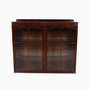 Vintage Glazed Mahogany Cabinet