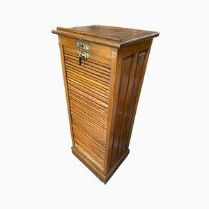 Mueble italiano con puerta de persiana, años 20
