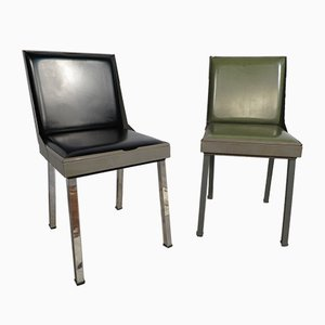 Vintage Industrial Chairs, Set of 2