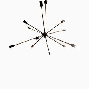 Lámpara de techo era espacial vintage de Stilnovo