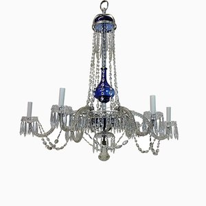 Baltic Glass Chandelier, 1900s
