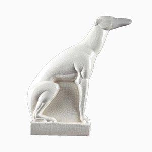 Art Deco Greyhound Skulptur von Charles Lemanceau