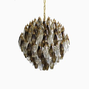 Spherical Murano Poliedri Chandelier, 1978