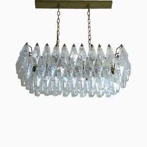 Murano Glass Poliedri Chandelier, 1978
