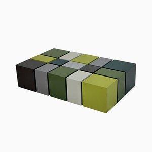 Kubistischer Mid-Century Beistelltisch, 1960er