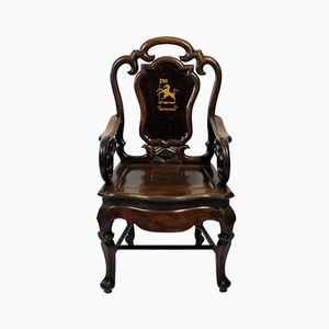 Anglo-chinesische Armlehnstühle, 1830er, 2er Set