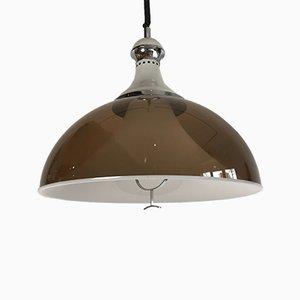 Lámpara colgante Mid-Century de Gino Sarfatti para Stilux, años 50