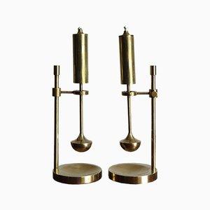 Lámparas de aceite de Ilse D. Ammonsen para Daproma, años 50. Juego de 2