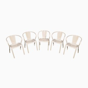 FT5 Chairs by Xavier Pauchard for Tolix, Set of 5