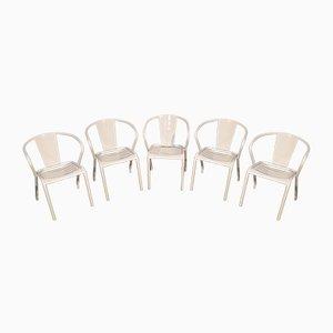 FT5 Stühle von Xavier Pauchard für Tolix, 5er Set