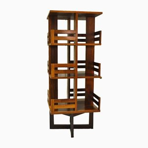 Vintage Swivel Bookcase, 1970s