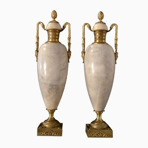 Antique Empire Style Cassolettes, Set of 2